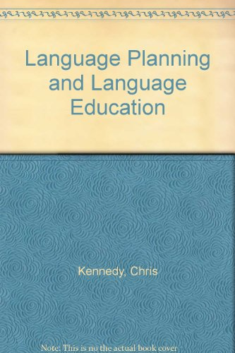 9780044070207: Language Planning and Language Education