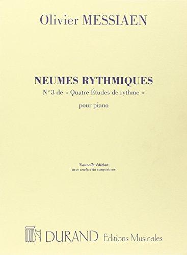 9780044073307: Neumes Rythmiques (Avec Analyse De Messiaen)