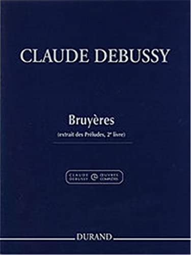 9780044079699: Bruyeres, Pour Piano