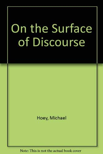 9780044150022: On the Surface of Discourse