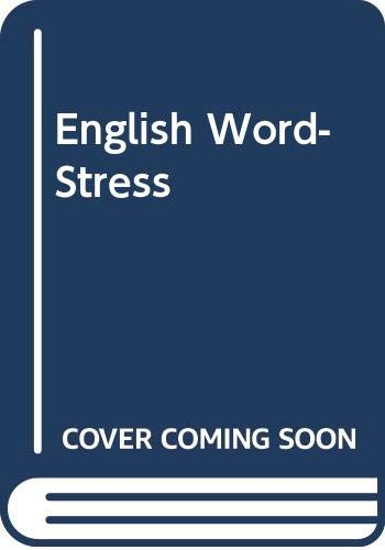 9780044180043: English Word-Stress