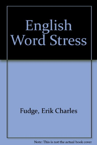 9780044180050: English Word-Stress
