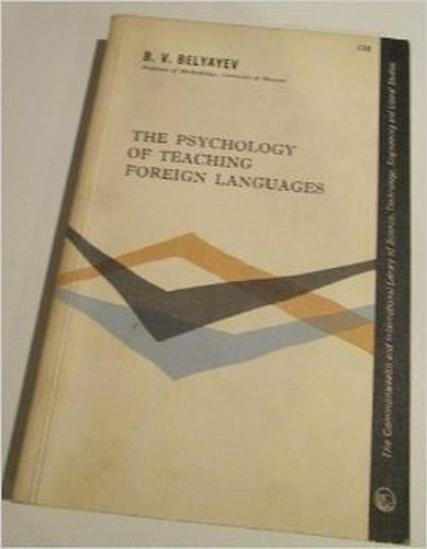 9780044180098: Psychology in Foreign Language Teaching