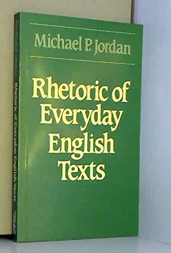 9780044200475: Rhetoric of Everyday English Texts