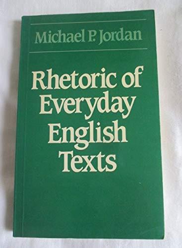 9780044200482: Rhetoric of Everyday English Texts