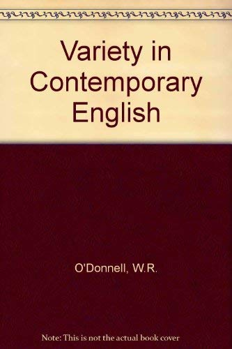 9780044210054: Variety in Contemporary English