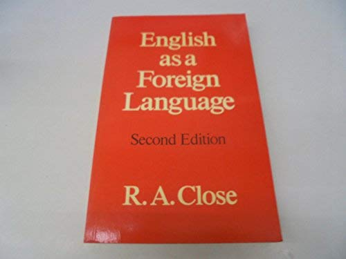 9780044250241: English as a Foreign Language: Its Constant Grammatical Problems