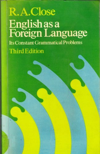 9780044250258: English As a Foreign Language