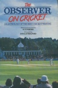 "9780044400349: ""Observer"" on Cricket: An Anthology of the Best Cricket Writing"