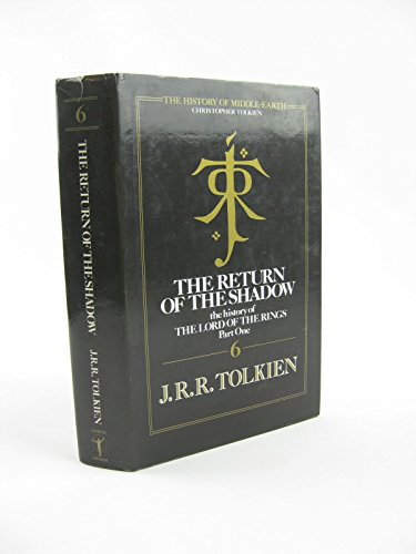 9780044401629: The Return of the Shadow (The History of Middle-Earth)