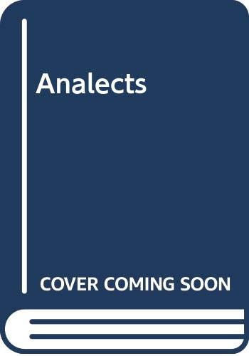9780044402237: Analects of Confucius