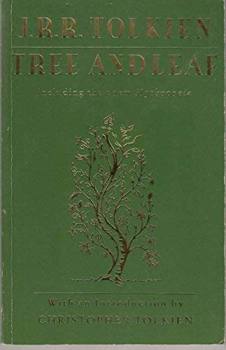 9780044402534: Tree and Leaf: Including the Poem Mythopoeia