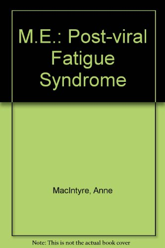 9780044403180: Me Post-Viral Fatigue Syndrome
