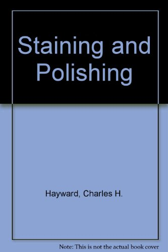 9780044403203: Staining and Polishing