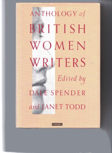 9780044403395: Anthology of British Women Writers: From the Middle Ages to the Present Day