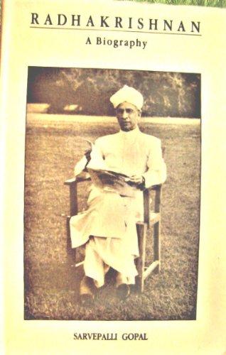 9780044404491: Radhakrishnan: A Biography