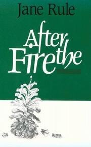 9780044405702: After the Fire