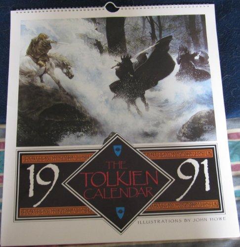 9780044406778: The Tolkien Calendar 1991