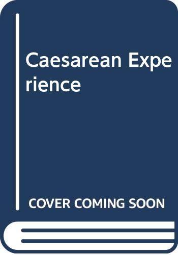 9780044407386: Caesarean Experience