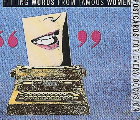 9780044407409: Postcards for Every Occasion: Fitting Words from Famous Women