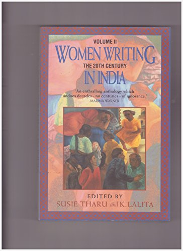 9780044408741: Women Writing in India: 600 BC to the Present: The 20th Century v. 2