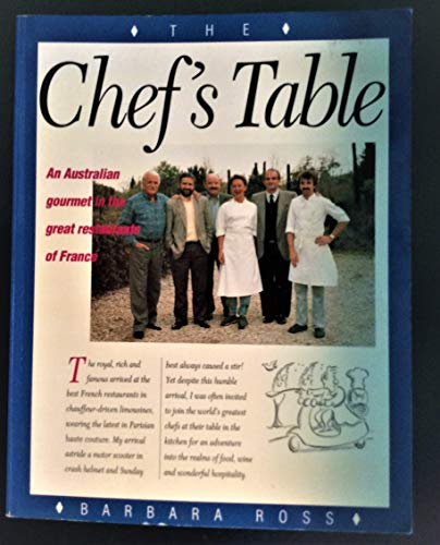 9780044422211: The Chef's Table