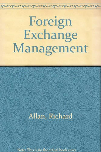 9780044422259: Foreign Exchange Management
