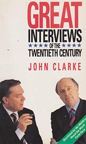 9780044422853: Great Interviews of the Twentieth Century (A Susan Haynes book)