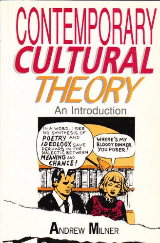 9780044422921: Contemporary Cultural Theory: An Introduction