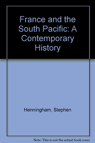 9780044423270: France and the South Pacific: A Contemporary History