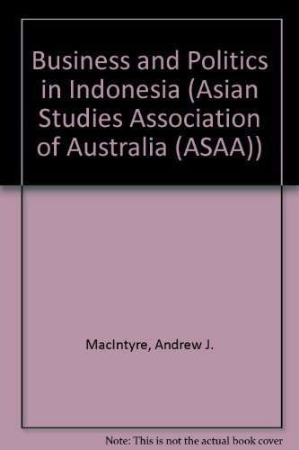 9780044423300: Business and Politics in Indonesia (Asian Studies Association of Australia (ASAA))