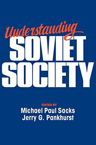 9780044450481: Understanding Soviet Society