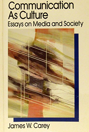 9780044450641: Communications as Culture: Essays on Media and Society (Media & Popular Culture)