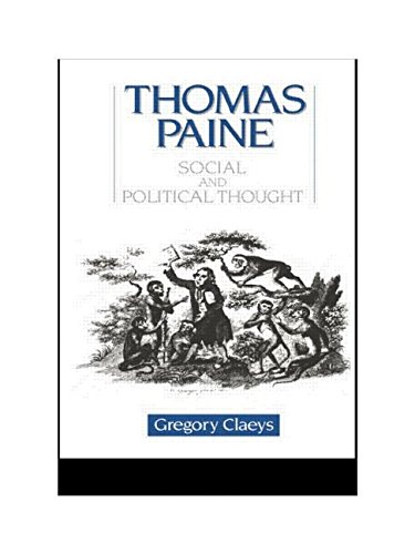 9780044450894: Thomas Paine: Social and Political Thought