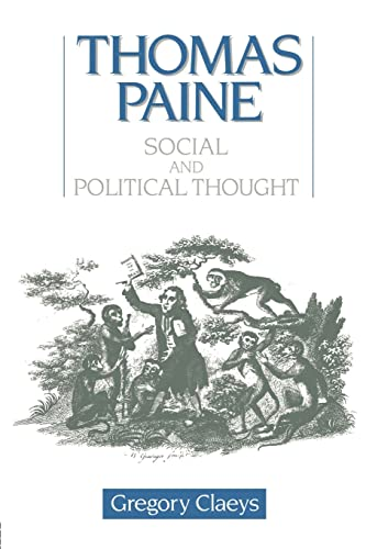 9780044450900: Thomas Paine: Social and Political Thought