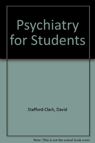 9780044450917: Psychiatry for Students