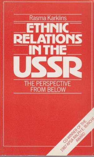 9780044451365: ETHNIC RELATIONS IN USSR PB