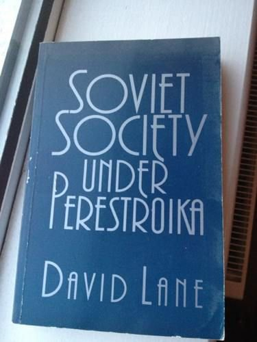 9780044451679: Soviet Society Under Perestroika