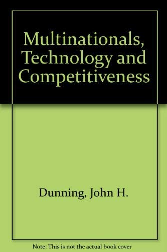 9780044451754: Multinationals, Technology and Competitiveness
