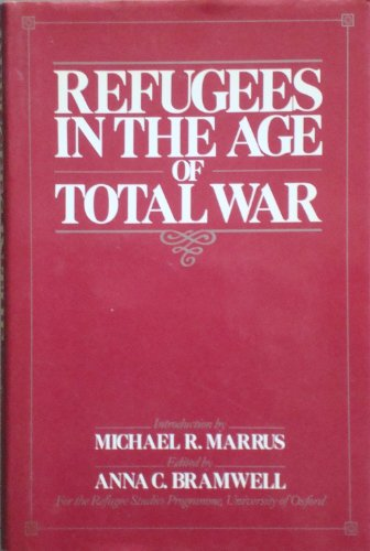 9780044451945: Refugees in the Age of Total War