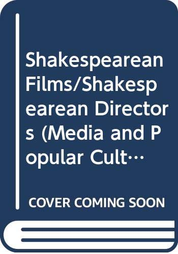 9780044452300: SHAKESPEAREAN FILMS PB (Media and Popular Culture, 6)