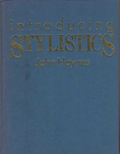 9780044453635: Introducing Stylistics