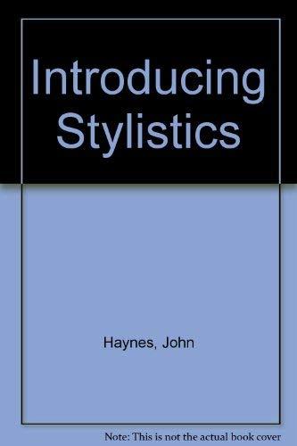 9780044453642: Introducing Stylistics Pb