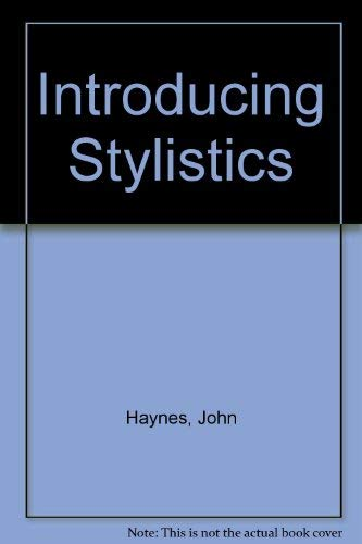 9780044453642: INTRODUCING STYLISTICS PB