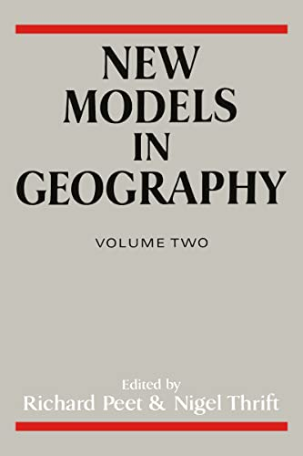 9780044454212: New Models in Geography - Vol 2: The Political-Economy Perspective (Studies in Renaissance Literature; 1)
