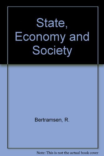 9780044454311: State, Economy and Society
