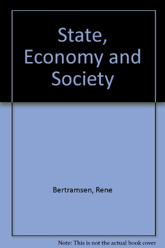 9780044454335: State, Economy and Society