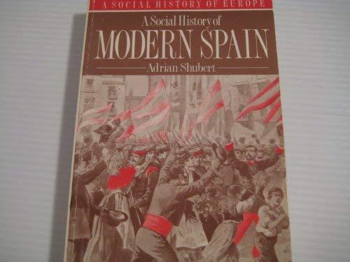 9780044454595: A Social History of Modern Spain