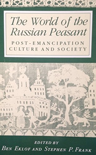 9780044454786: The World of the Russian Peasant