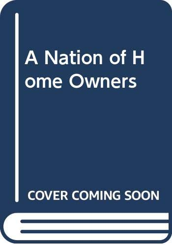 9780044454885: NATION HOME OWNERS CL